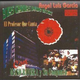 CD de Angel Luis Garcia Titulo El Profesor que Canta