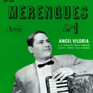 CD de Angel Viloria Titulo Merengues