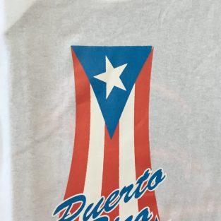 T Shirt de Puerto Rico - Blanco