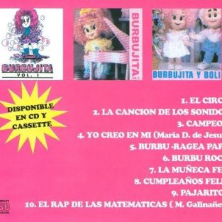 CD  Burbujita  Vol 2