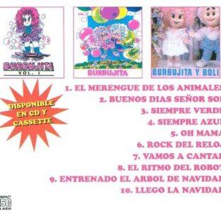 CD  Burbujita  Vol 3