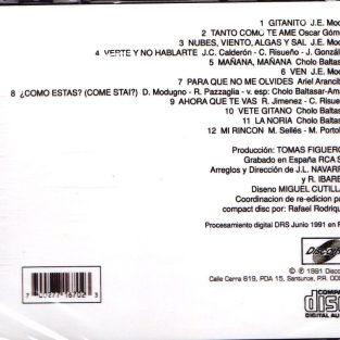 CD de Lucecita - Gitanito
