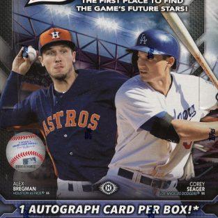 2016 Bowman Baseball box (24 count)