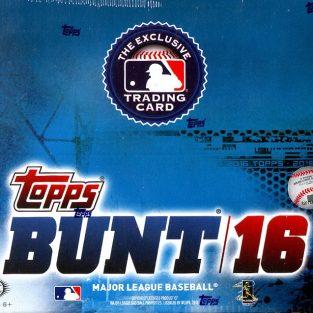 2016 Topps Bunt baseball hobby box (36 count)