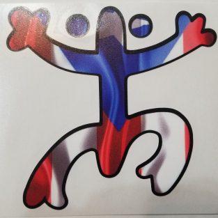 Sticker de PR - Coquí Taíno