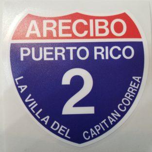 Sticker de PR - Arecibo 2