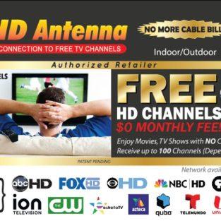 Antena HD TV