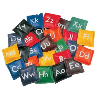 Bean Bag alfabetico set 26
