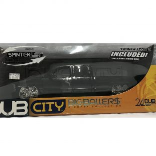 1:18 Chevrolet Silverado Negro Dub City - Jada Toys