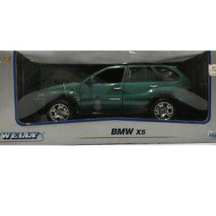 1:18 BMW X5 Verde - Welly