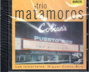 CD de Trio Matamoros- Los inmortales
