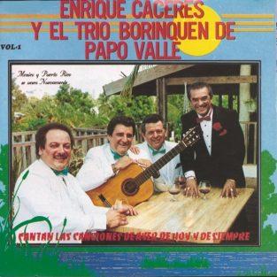 CD Enrique Caseres y El Trio  Borinquen de Papo Valle