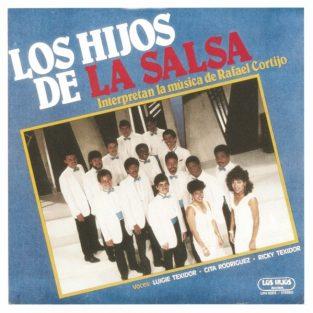 CD de Los Hijos de la Salsa - Interpretan la música de Rafael Cortijo