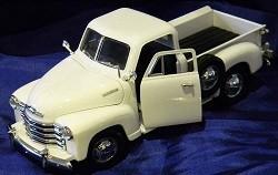 1:18 1953 Chevrolet Pick up - Blanco