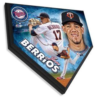 Jose Berrios - Home plate plaque 11.5 X 11.5