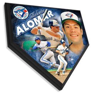 Roberto Alomar - Home plate plaque 11.5 X 11.5