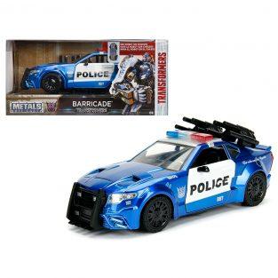 1:24 Transformer Barricade - Police