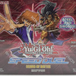 Yugioh Speed Duel booxter box- Scars of Battle
