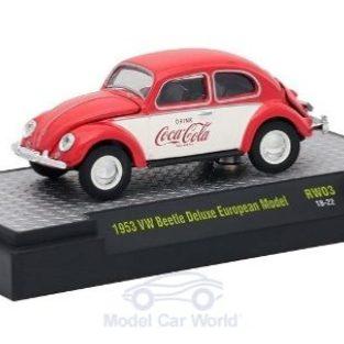 1953 Coca Cola VW Beetle Deluxe European Model