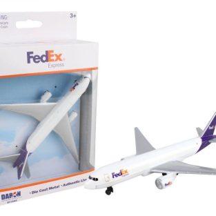 """Avión """"Die cast"""" - FedEx"""