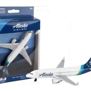 Avión Die cast - Alaska Airlines