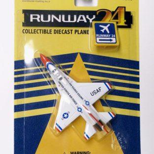 Runway 24 - F-16A FIGHTING FALCON (USAF Thunderbirds)