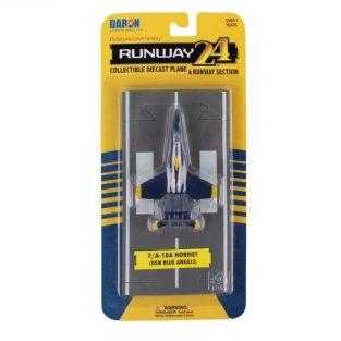 RUNWAY 24 - F/A- 18A HORNET (USN Blue Angels)