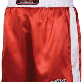 Pantalon de boxeo Rojo y blanco / Red & white trunks Ringside PSTREDW