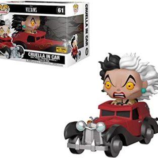 "Funko Pop -Disnep Villains: Cruella in Car  61  ""Hot Topic Exclusive"""