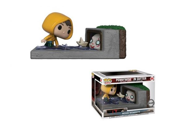 """Funko Pop -IT: Pennywise in Gutter  584  """"Hot Topic Exclusive"""""""