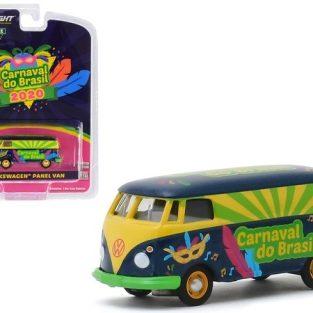 """1:64 Greenlight  Volkswagen Panel Van - Carnaval do Brasil  """"Exclusive Hobby"""""""