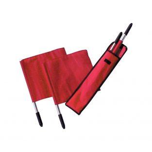 Deluxe Linesman flags (set/4) w/case TANDEM TSLF