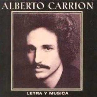 CD de Alberto Carrión Titulo Letra y Musica