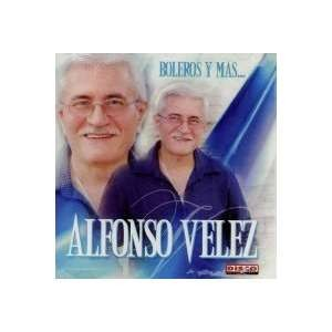 CD de Alfonso Velez  Titulo Boleros y Más