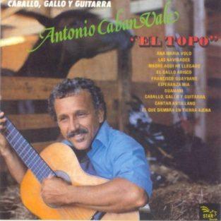 CD de Antonio Caban Vale el Topo Titulo Antologia/35 Aniversario